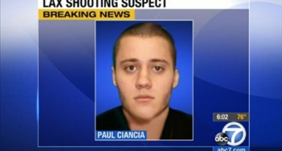 Los Angeles airport shooter will plead guilty to murdering security officer