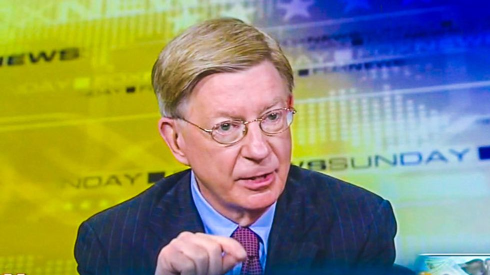 Conservatives outraged after college rescinds invitation to George Will over offensive rape column