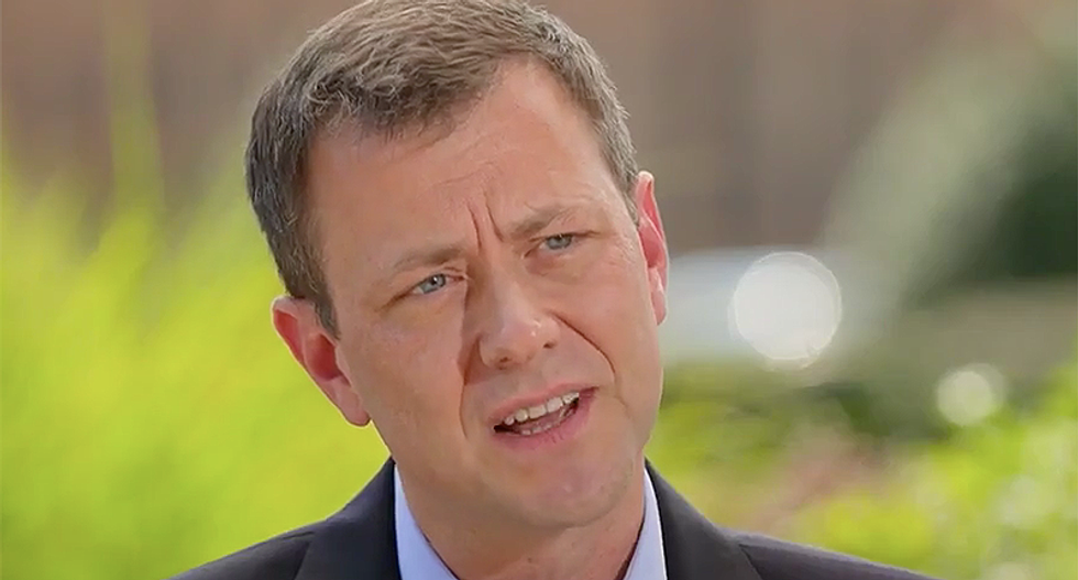 Former FBI investigator and Trump foe Peter Strzok corrects the record on Robert Mueller finding 'collusion'