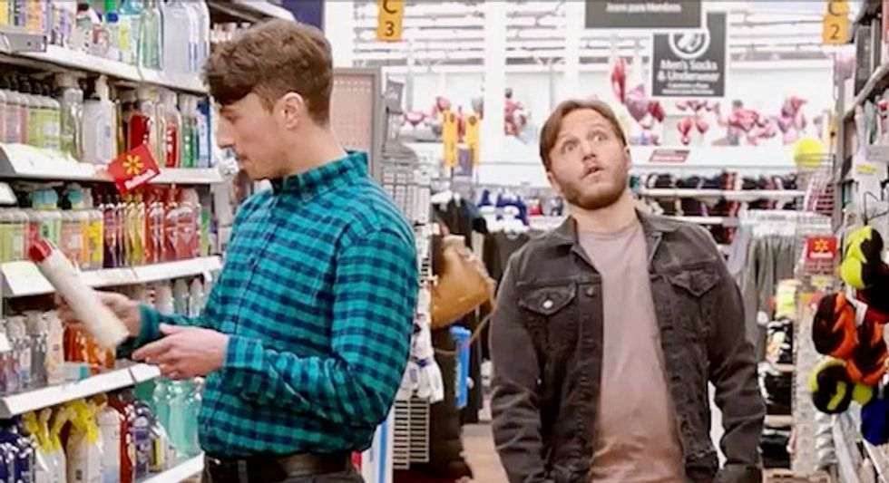 Walmart actually made a cute ad featuring two gay men on a date – This group is trying to get it banned