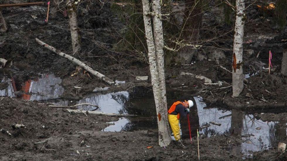 Widow files damage claims over Washington state mudslide disaster