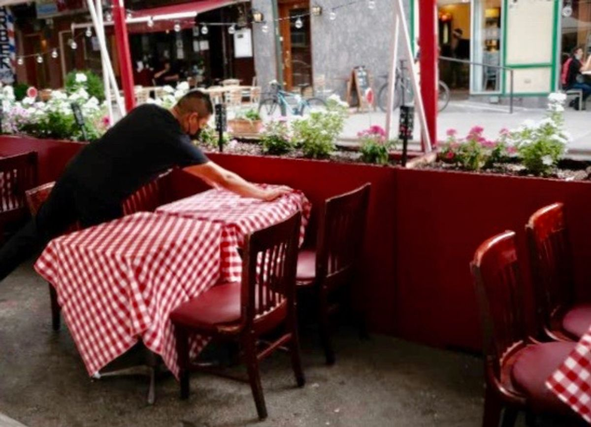 US restaurants cheer relief in $1.9 trillion Biden package