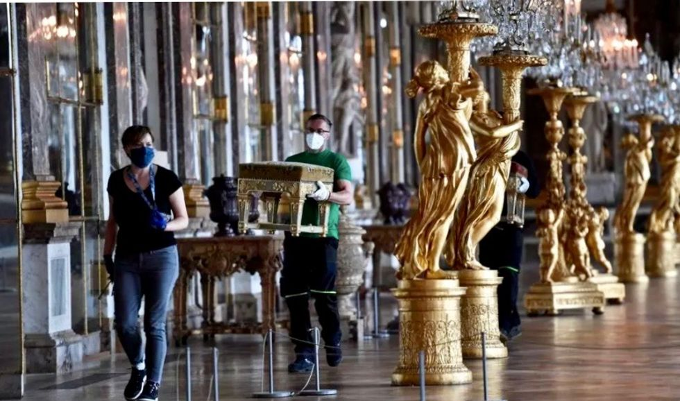France's Versailles to re-open Saturday after COVID-19 lockdown ease