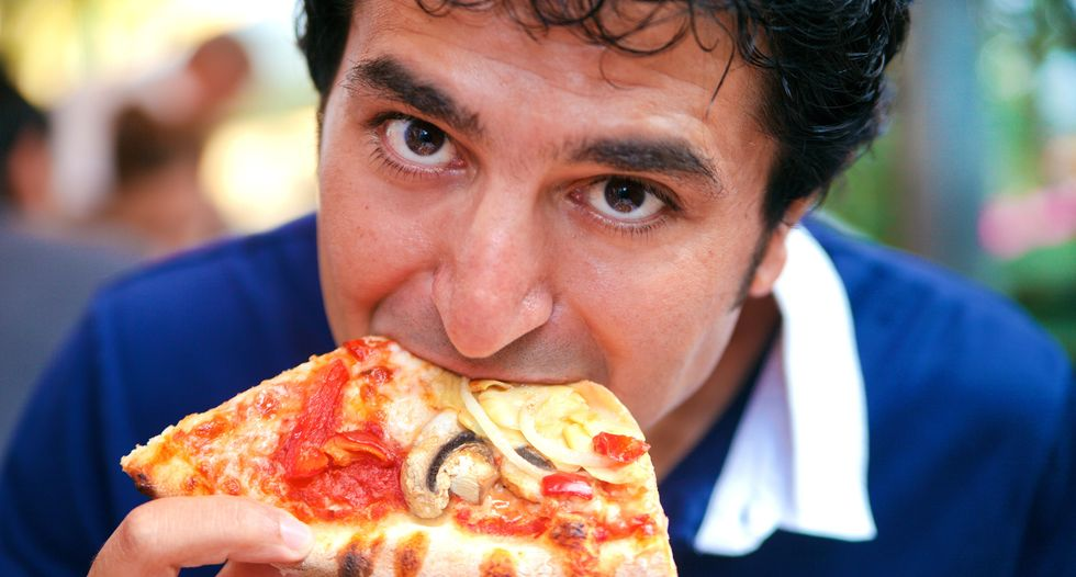 Promise of pizza proves to be the best motivator