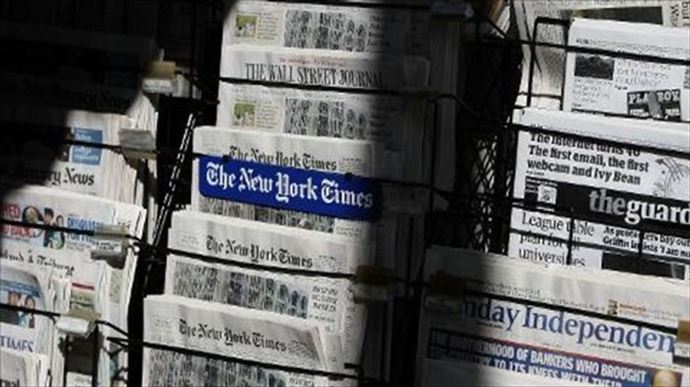 Red ink: New survey shows newspapers' continuing 'inability to compete'