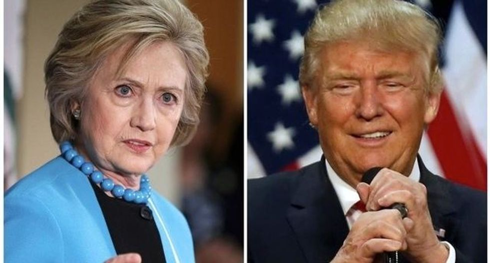 Trump catches up to Clinton, latest Reuters/Ipsos poll finds
