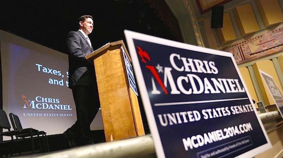 Tea Party challenger Chris McDaniel forces runoff vs. MS GOP Sen. Thad Cochran