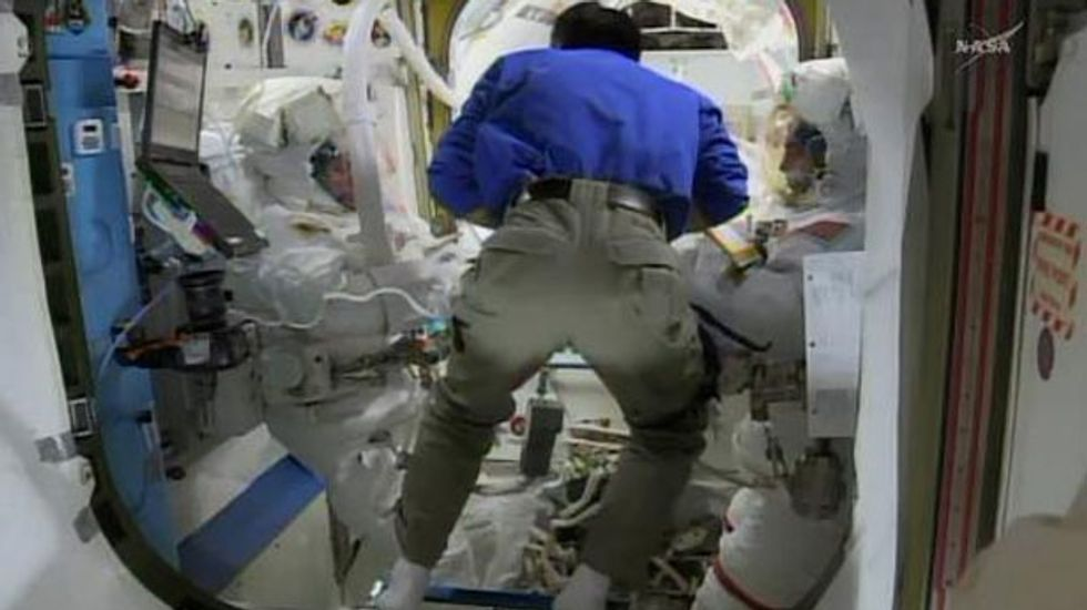 Astronauts to step out on spacewalk for repairs to the International Space Station