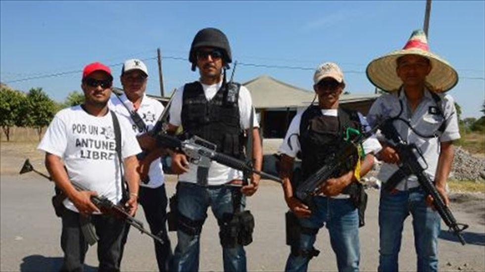 Mexico arrests 110 people for posing as anti-cartel vigilantes