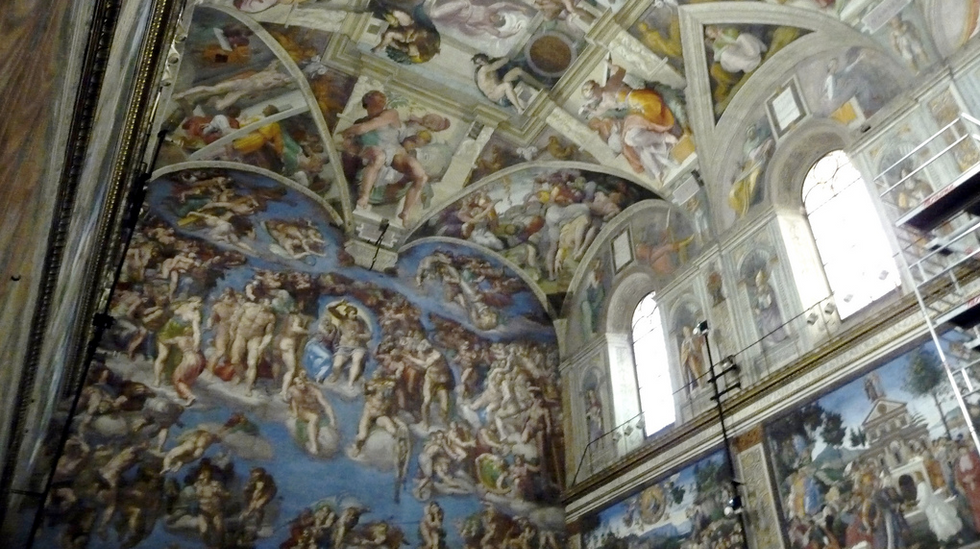 Michelangelo painted a 'secret feminist code' in the ceiling of the Sistine Chapel, says new study