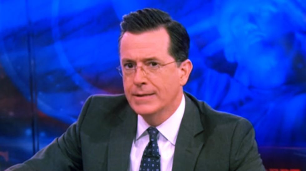 Colbert: Canadian middle class 'ice-holes' bring home more bacon, and it's that round sh*t