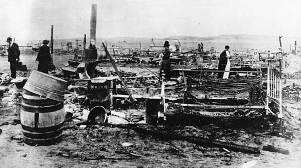 Workers were once massacred fighting for the labor protections being rolled back today