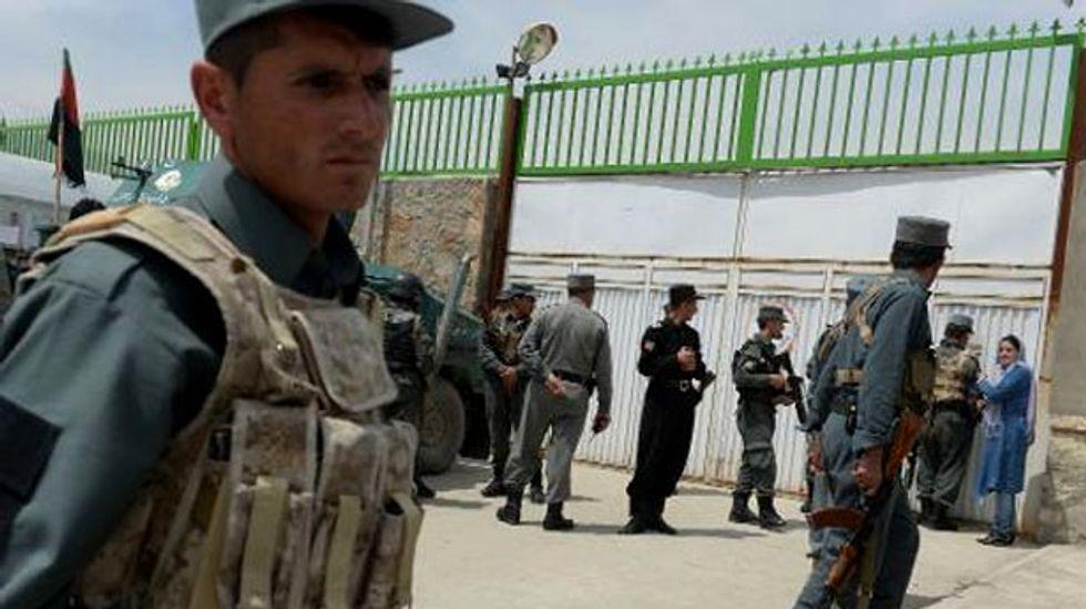 Afghan policeman guns down three U.S. citizens at Kabul hospital