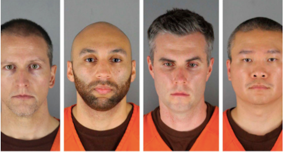 Ex-cops charged in George Floyd's killing turn on each other as trial nears