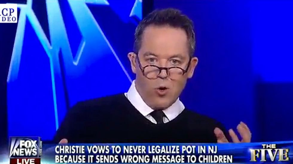 Fox host rips Chris Christie's anti-weed stance: Obesity kills more people than pot