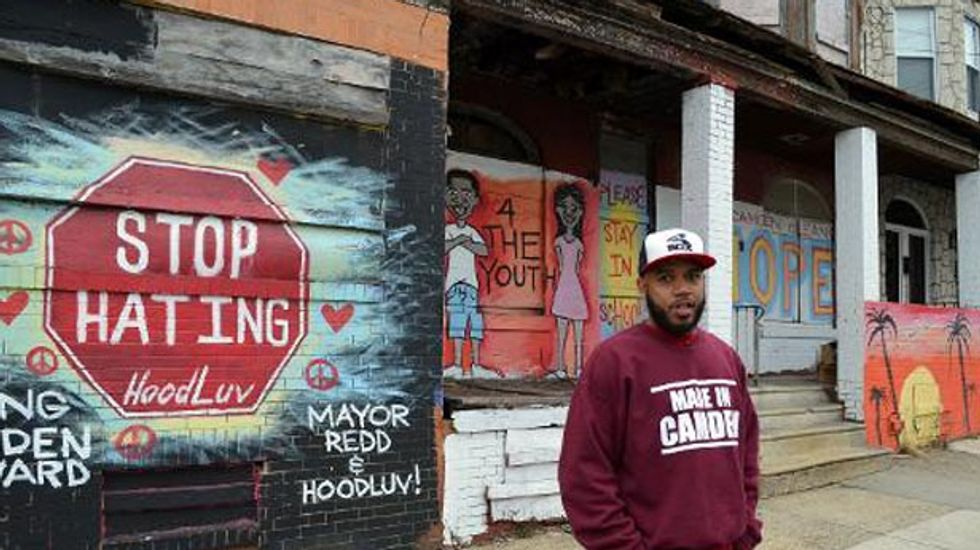Amid the urban decay in New Jersey, ex-drug dealer Anthony Dillard is glimmer of hope