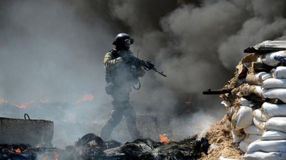 Ukraine accuses Russia of seeking 'third world war'