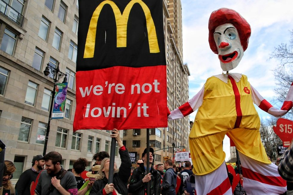 McDonald's, the fight for $15 and the global revolution of fast food workers