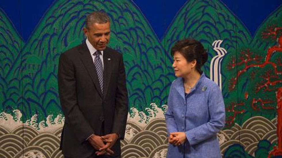 Obama says Japan's wartime sex slavery was 'terrible' human rights violation