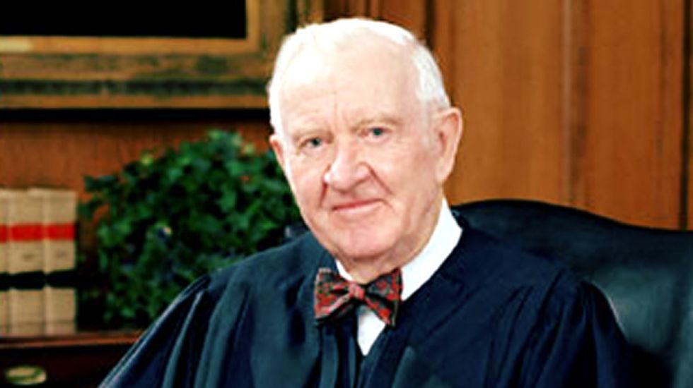 'Yes,' marijuana should be legal, says retired Supreme Court Justice John Paul Stevens
