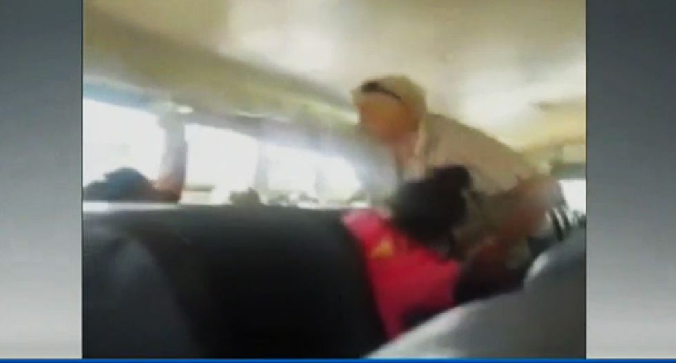 Idaho bus driver fired after pouring water on Spanish-speaking student: 'Speak to me in English!'