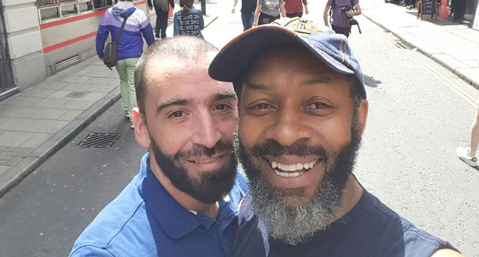 Multi-racial gay couple booted off bus after driver goes on sneering homophobic rant