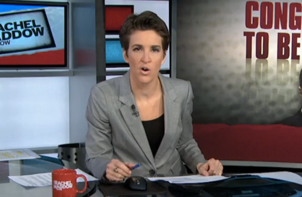 Maddow rips reporter-threatening Republican Rep. Michael 'I'll Break You in Half' Grimm