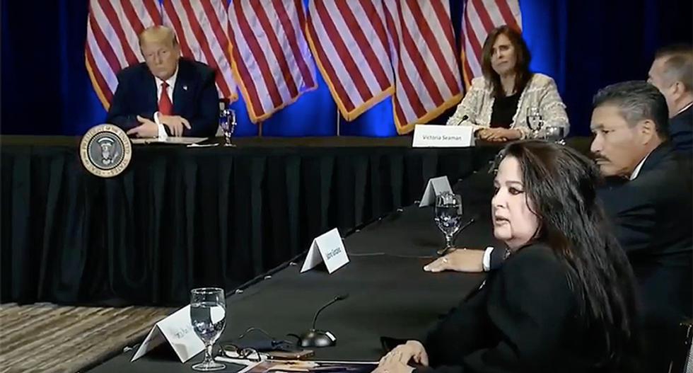 'I love you': Trump praises woman at Nevada event after she says, 'I'll take a bullet for you'