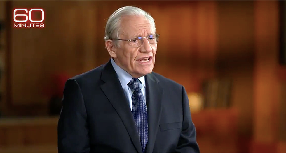 Woodward shoots down Trump's attacks during '60 Minutes' interview: He had the 'duty to warn' America