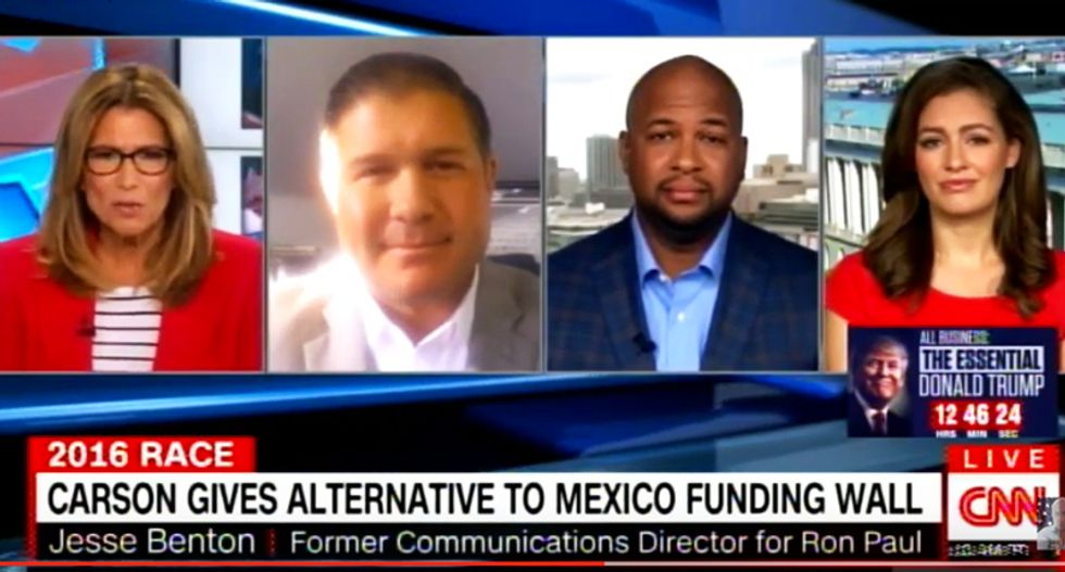 Trump fan baffles CNN host: Trump will use 'clever financing' tricks to pay for the $25 billion wall