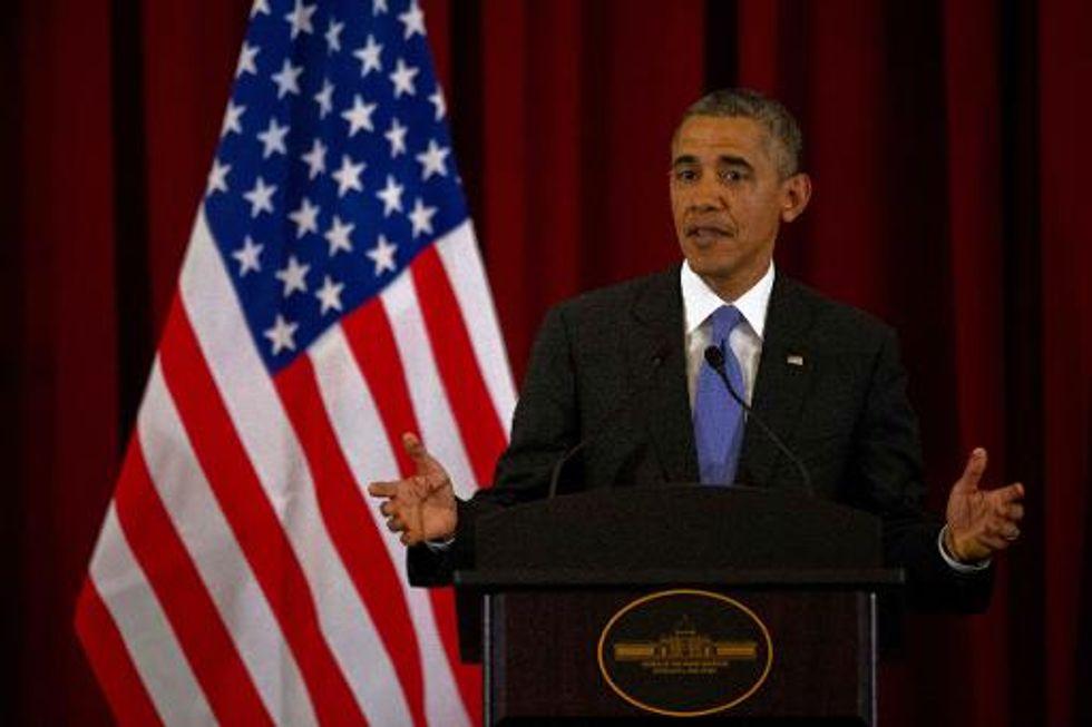 Obama criticizes Russian 'provocation' in Ukraine, behavior of pro-Russian 'thugs'