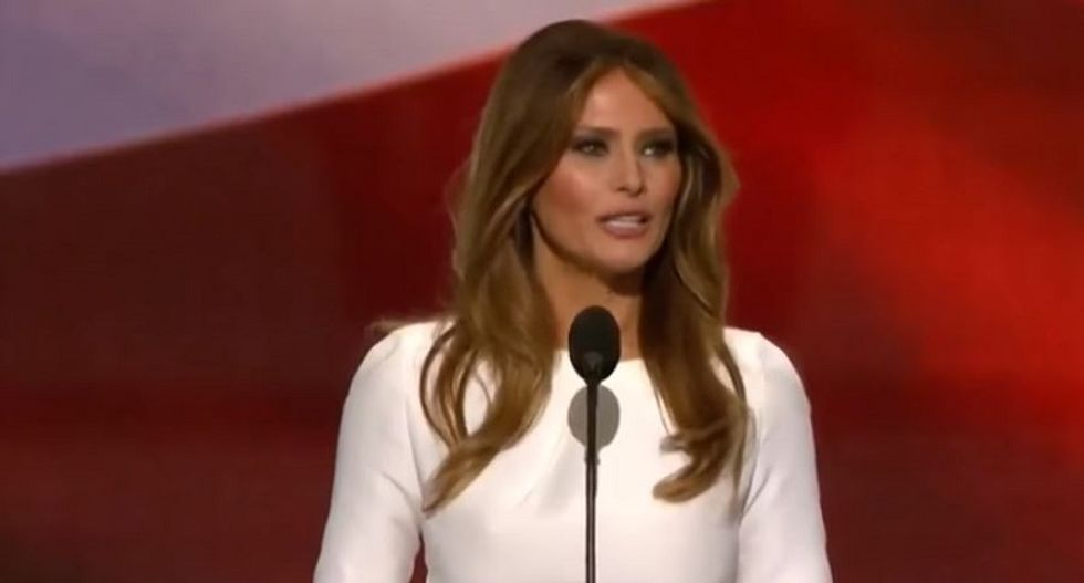 Trump may have violated campaign laws by using private employee to write Melania's speech: report