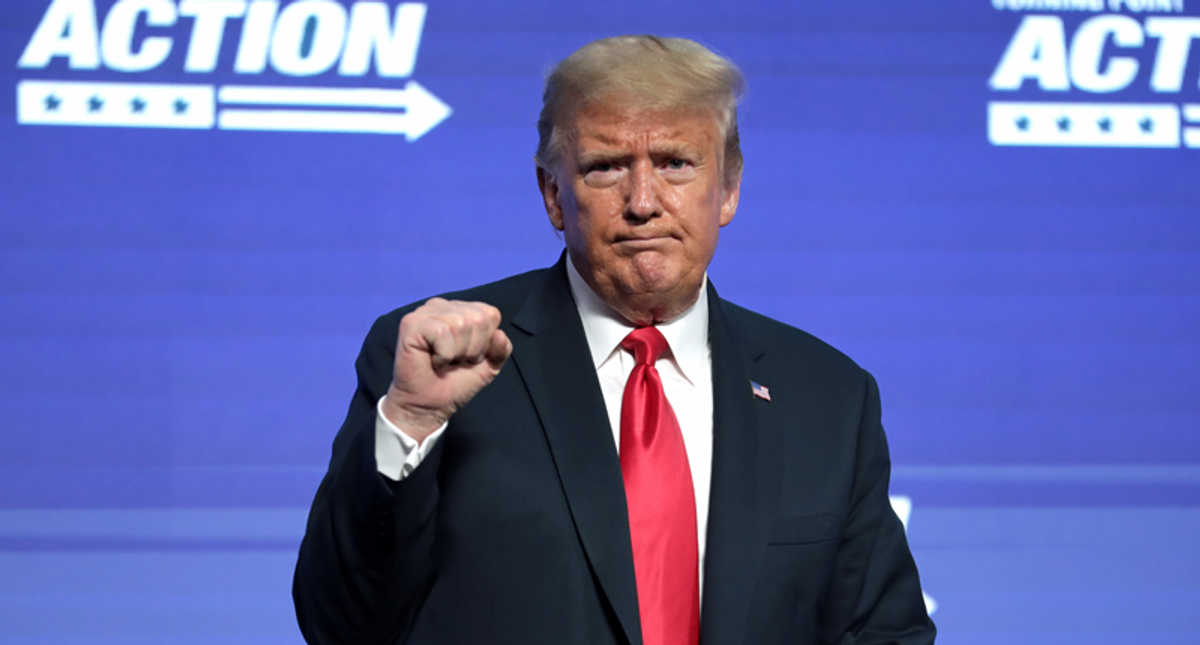 Trump is '100% accurate': Newsmax host lies that the 2020 election was 'illegal'