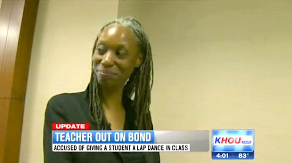 Texas teacher admits performing 4-minute classroom lap dance for 15-year-old's birthday