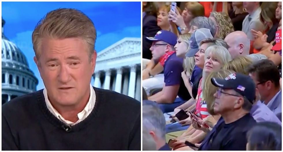 Trump's mask-free Nevada rally should reveal something alarming to his 'personality cult': Morning Joe