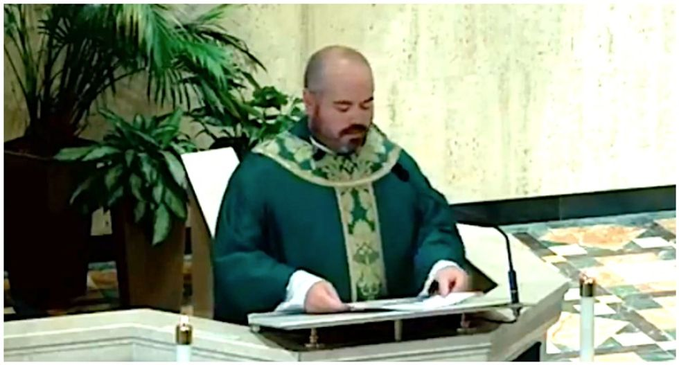Priest faces backlash after comparing 'evil' BLM protesters to 9/11 terrorists in wild sermon