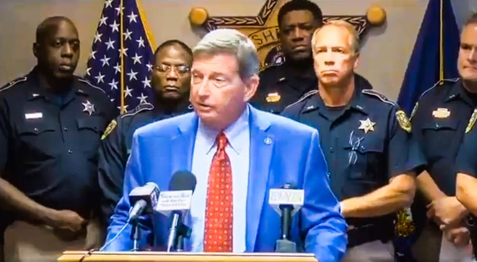 WATCH: Louisiana sheriff rages against releasing 'good' prisoners because 'we use them to wash cars'