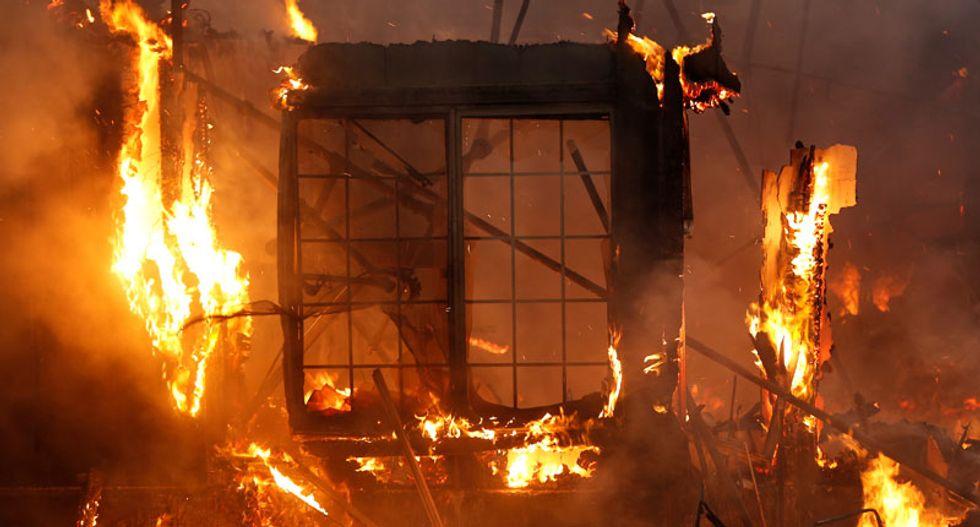 California wildfires send film, TV productions scrambling