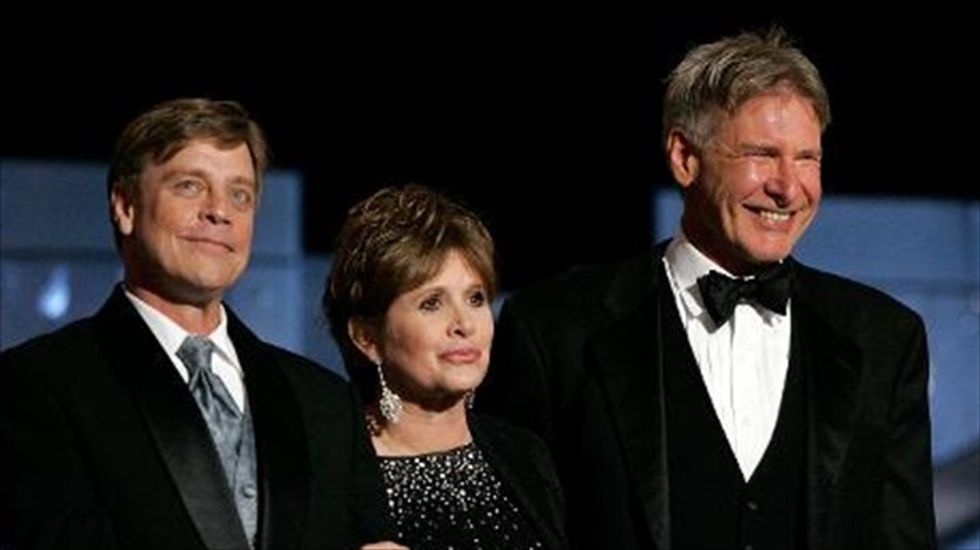 Fisher, Ford and Hamill lead newcomers as latest 'Star Wars' cast is confirmed