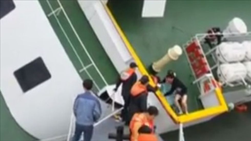 Overloaded ferry in Bangladesh sinks with 200 passengers on board