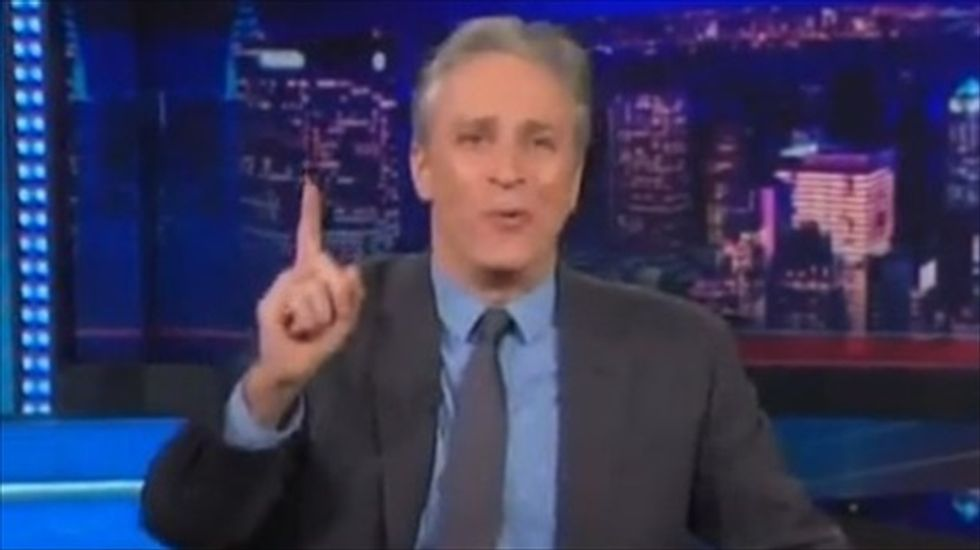 Jon Stewart: Donald Sterling, Bundy, and the KKK illustrate the 'mosaic of racism in America'