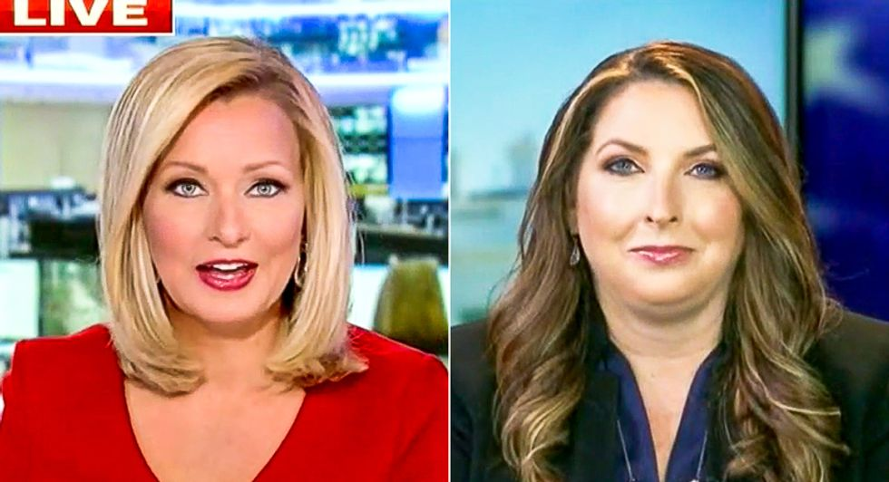 Fox News host shuts down GOP chairwoman's Biden 'basement' smear: 'He's out on the campaign trail'