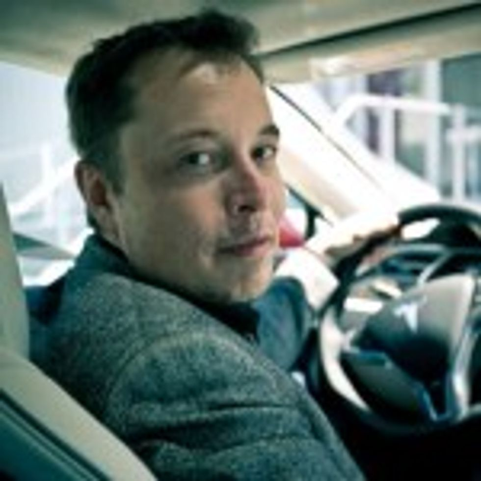 Elon Musk and Johnny Depp got a speeding ticket while driving the Tesla Model S