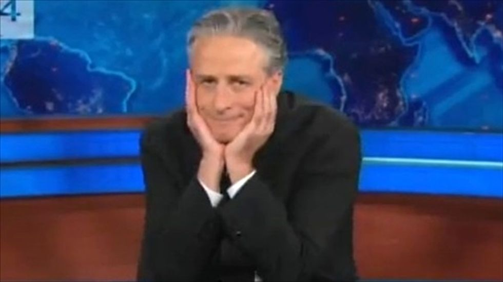 Jon Stewart wants Sarah Palin and Donald Trump to tell him to 'f*ck off' on final episodes: report