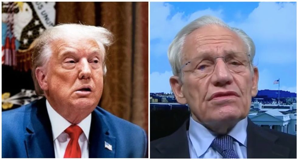 Trump lashes out at Bob Woodward as a 'hater' for 'very boring' book documenting White House incompetence