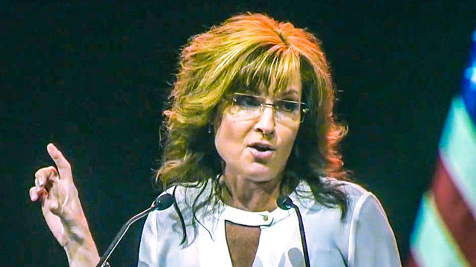 Thousands of Christians organize against Sarah Palin after waterboarding joke mocks baptism