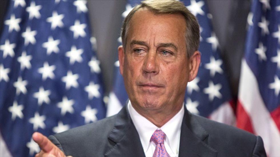 John Boehner assures Republicans he won't push immigration reform