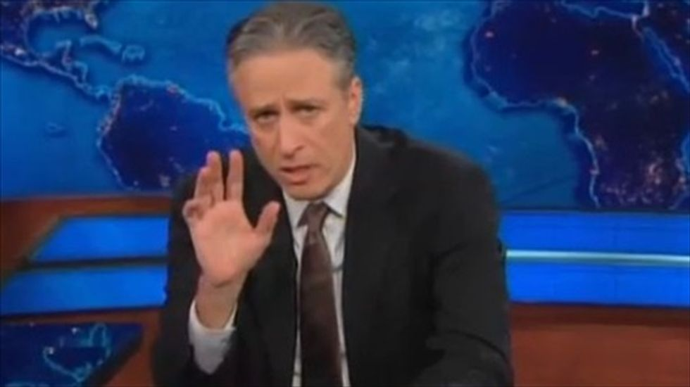 Jon Stewart rips GOP's 'hilarious and misguided' fear-mongering at NRA event
