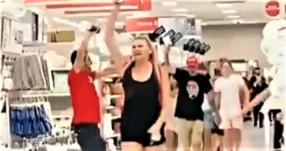 WATCH: Trump supporters storm Florida Target and demand shoppers stop wearing masks