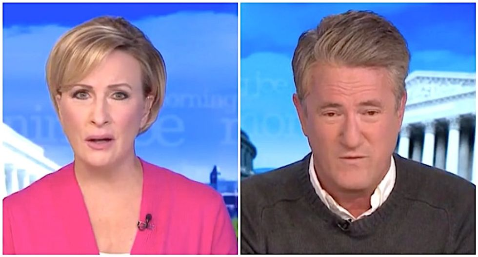 MSNBC's Morning Joe and Mika recoil from Trump's 'stupid' performance in town hall